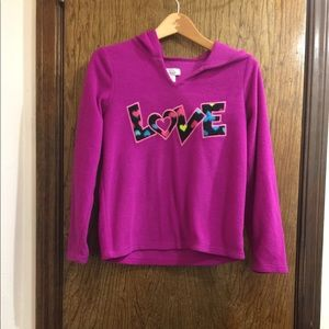 Children's place 10 / 12 purple hoodie.